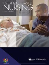 Evidence Based Nursing: 11 (3)