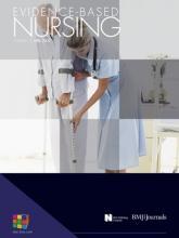 Evidence Based Nursing: 12 (2)